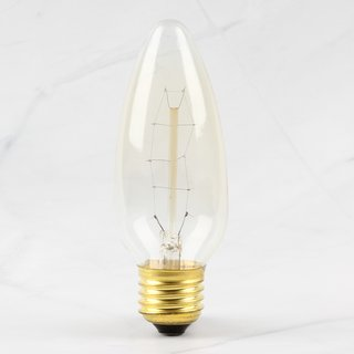 E27 Vintage Deko Glühlampe Kirchen Kerzenlampe 230V/240/25W 130x45mm
