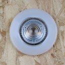Silikon-Gehäuse für GU5.3/MR16 Niedervolt Halogen und LED Einbaustrahler