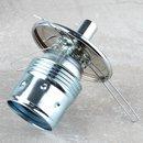Lampenschirm Lampen Glashalter 130mm mit 3-fach Feder für alle E14 und E27 Fassungen geeignet