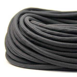 Textilkabel Stoffkabel schwarz 2-adrig 2x0,75 Zug-Pendelleitung S03RT-F