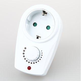 Lampen Steckdosen-Zwischendimmer  weiß 20-280W 230V